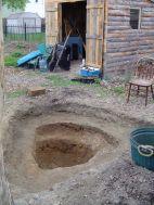 excavated pond