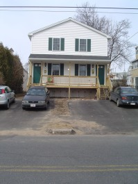 front yard before