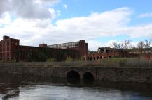 Holyoke factory and canal