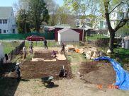 sheet mulch beginning